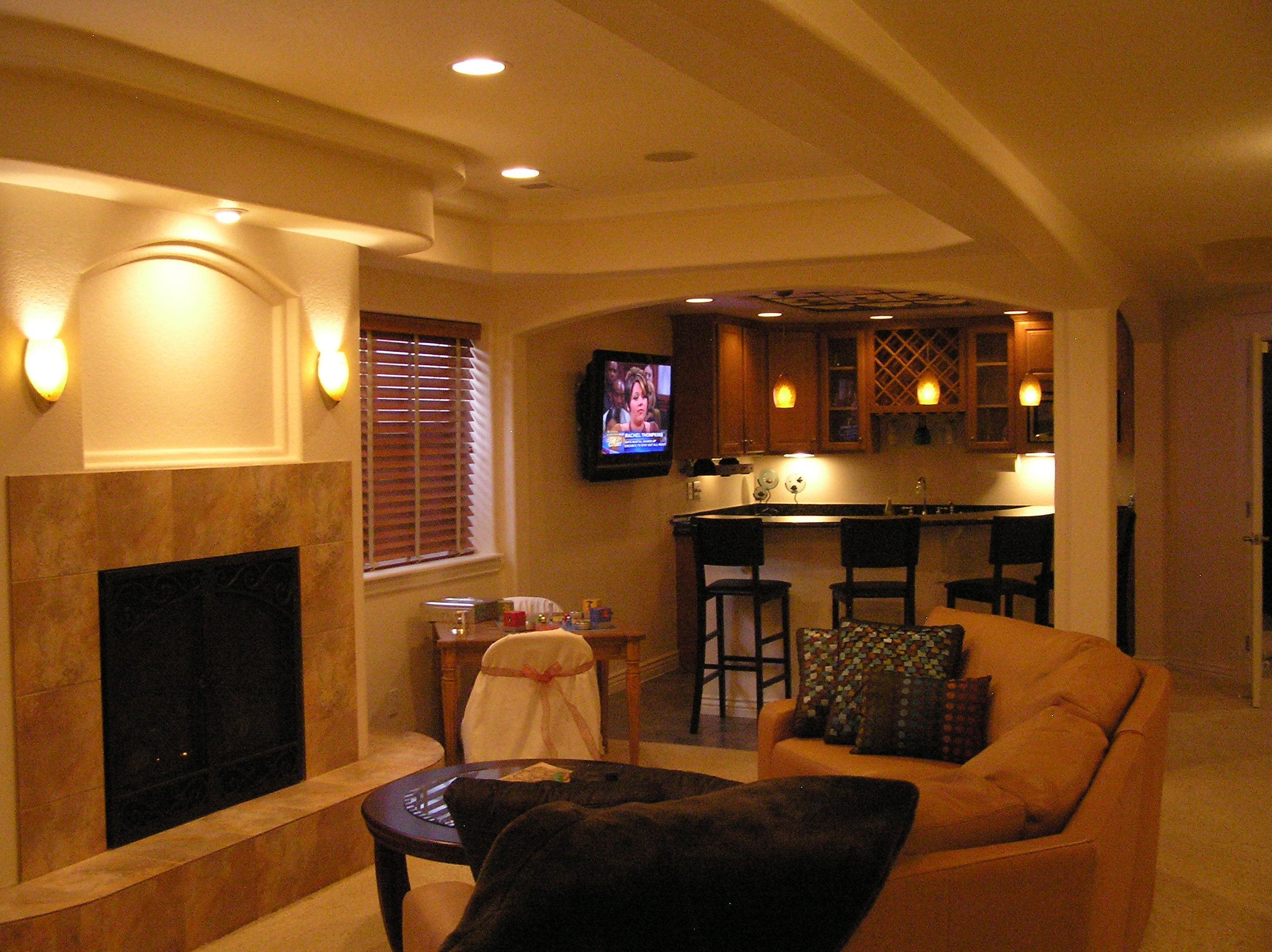 Basement design photos home decoration live - Basements designs ...